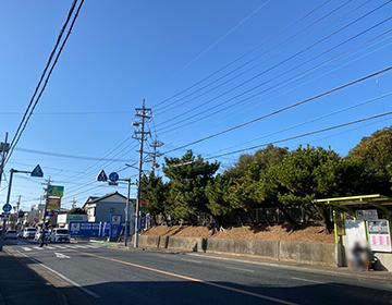 画像:六間坂上バス停